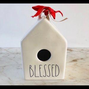 NWT Rae Dunn Blessed Birdhouse. HTF